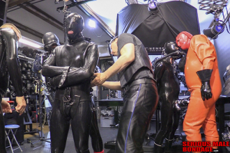 BlackStore.com 4mm heavy rubber straitjacket