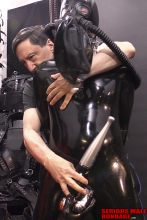 Fun with a rubber gimp