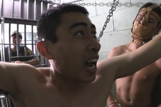 Male harsh bondage
